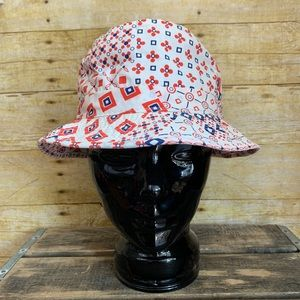Vintage Wadsworth Red White and Blue Bucket Hat